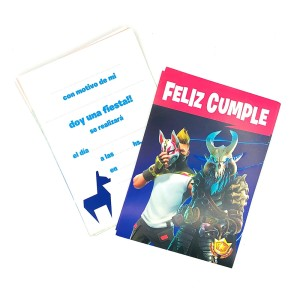 INVITACION FORTNITE