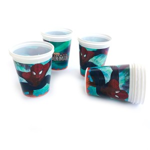 VASO SPIDERMAN x 10 U.