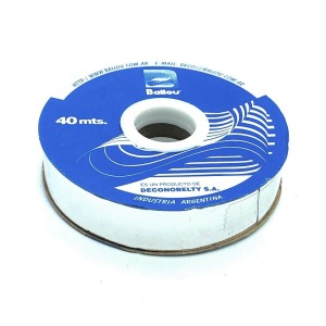 CINTA METALIZADA 20 MM. X 40 MTS.