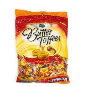 CARAMELO BUTTER TOFFEES BONOBON X 150 GR.
