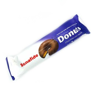 GALLETITA DONUTS CHOCOLATE CON LECHE X 78 GR.