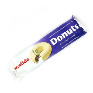 GALLETITA DONUTS CHOCOLATE BLANCO X 78 GR.