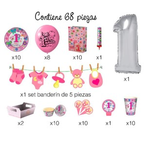 PARTY BOX 1° AÑITO NENA