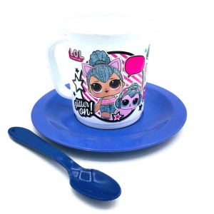 SET TAZA CON PLATO LOL